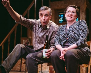 Llion Williams and Clêr Stephens in Re-Live Theatre's Belonging